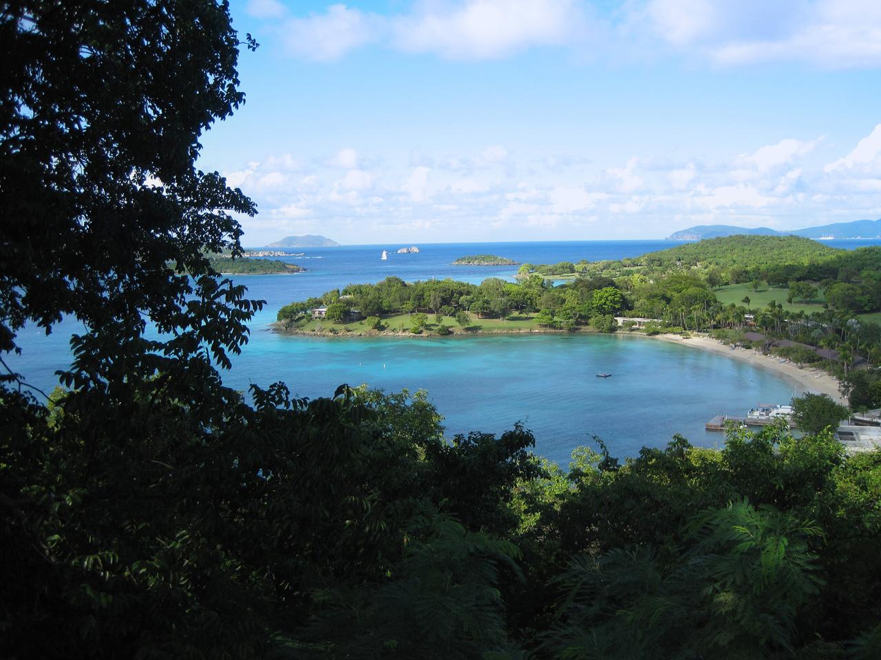 St. John Beach - U.S. Virgin Islands